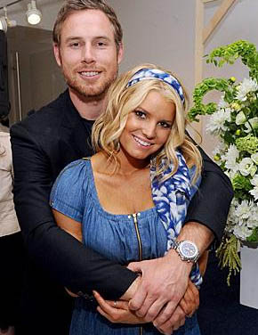 Jessica Simpson engagement with Eric Johnson