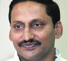 N. Kiran Kumar Reddy, Andhra CM