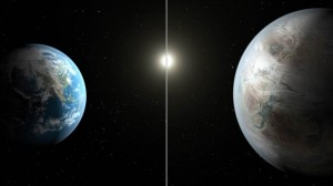 Earth and Kepler-452b, NASA, Earth like planet