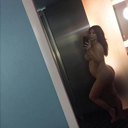 Kim kardashian pregnant, Kim kardashian selfie