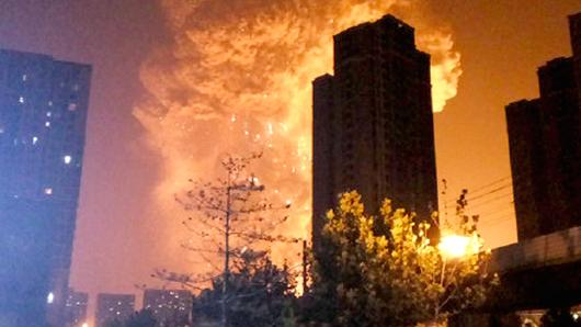huge explosion in china, tianjin china explosion, china explosion factory, tianjin china explosion pictures,